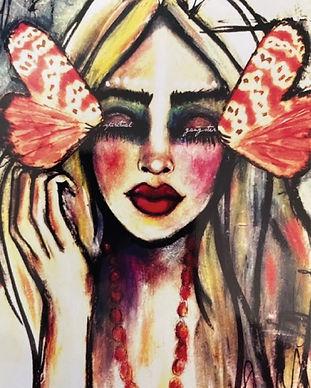 Love Your Inner Goddess Beauty Illustration