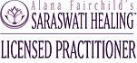 Alana Fairchild's Saraswati Healing Licensed Practitioner logo
