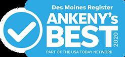 Des Moines Register Ankeny's Best 2020 logo