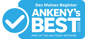 Des Moines Register Ankeny's Best 2020 logo