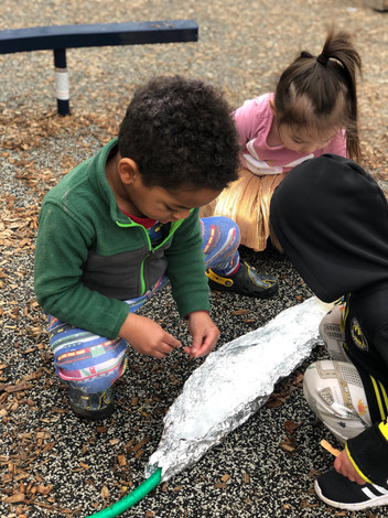 Reggio Playground: Water Exploration
