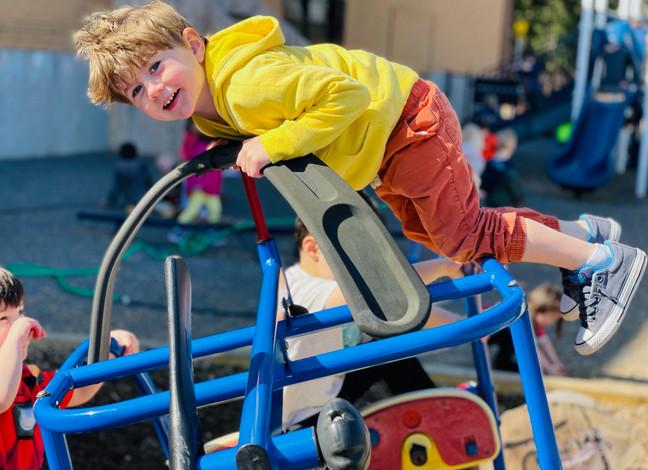 Reggio Playground: Freedom to Climb