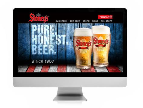 Stoney's Beer Acquisition, Branding & Relaunch