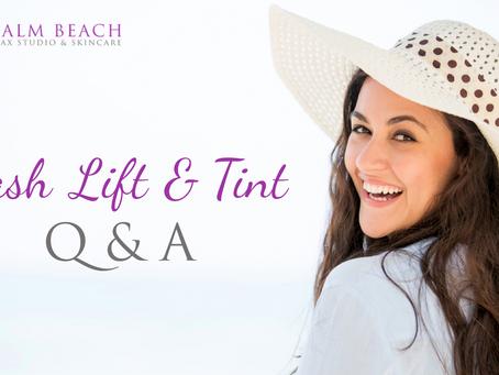 Lash Lift & Tint Q&A