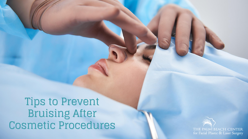 How to Prevent Bruising After Cosmetic Surgery