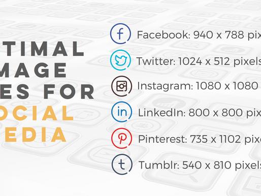Optimal Image Sizes for Social Media