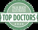 top doctors badge - palm beach illustrat