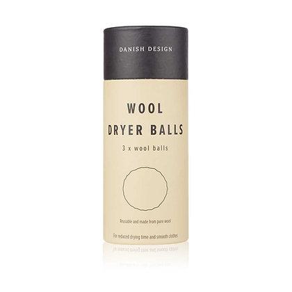 WOOL DRYER BALLS - 3 PACK