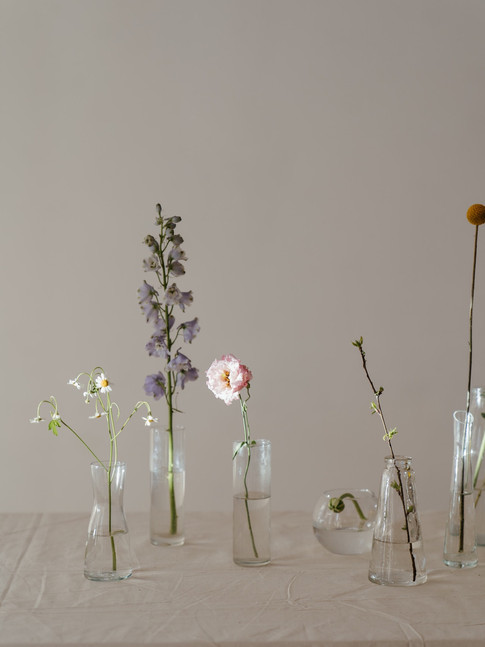 photo-of-flowers-in-clear-glass-vase-wit