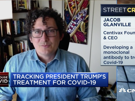 CNBC Closing Bell: Centivax CEO discusses President Trump's multiple Covid-19 treatments