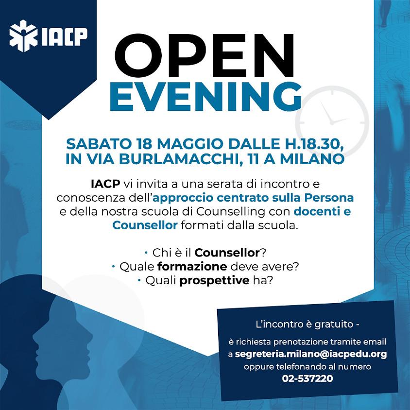 Open evening Scuola di Counselling Milano