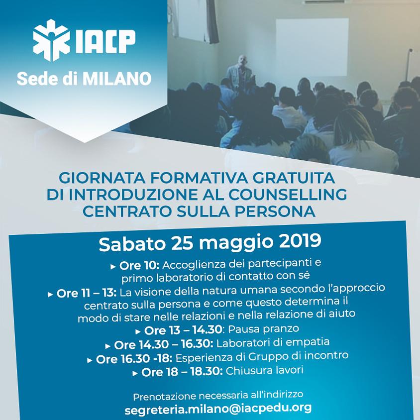 Open day Scuola di Counselling Milano