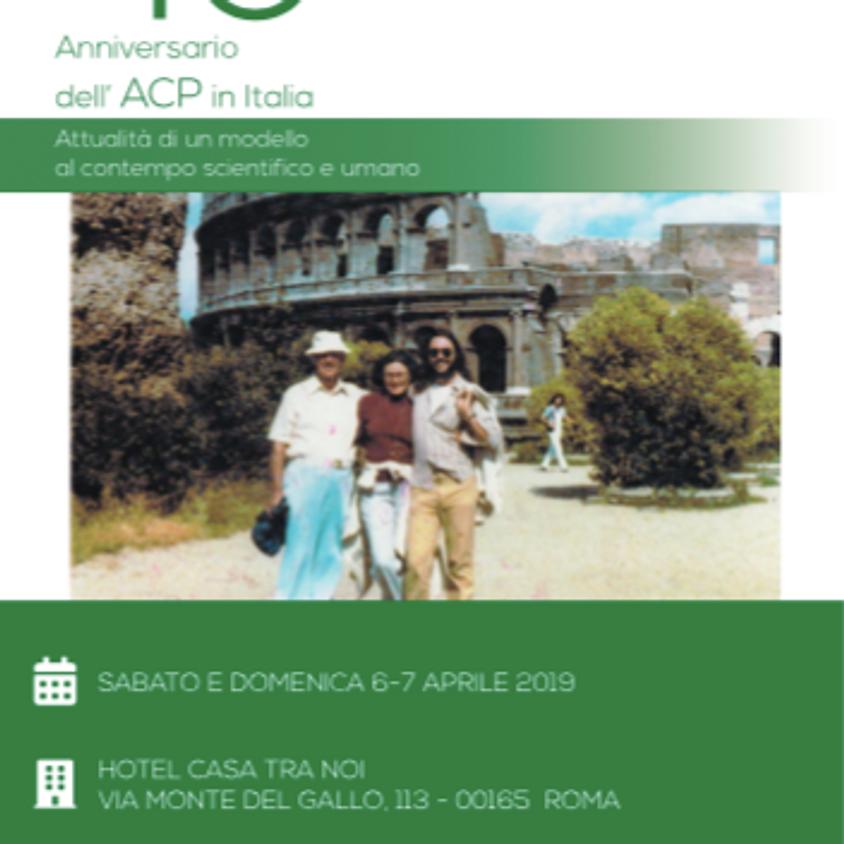 40° Anniversario dell'ACP in Italia