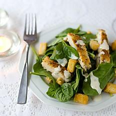 Spinach & Chicken Caesar