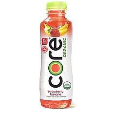 Core Organic Strawberry Banana 18oz