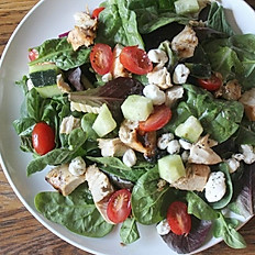 Spinach,Goat Cheese and Chicken