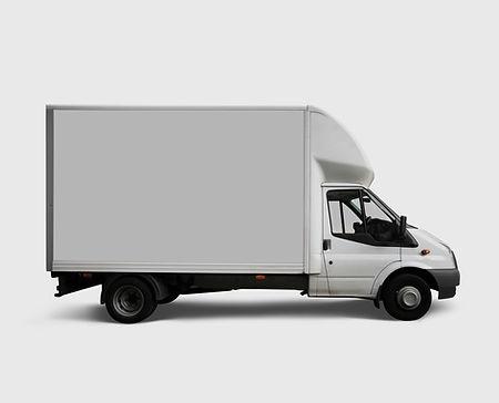 Weiß Lieferwagen