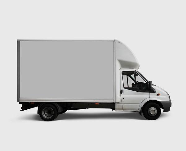 ホワイト配達トラック