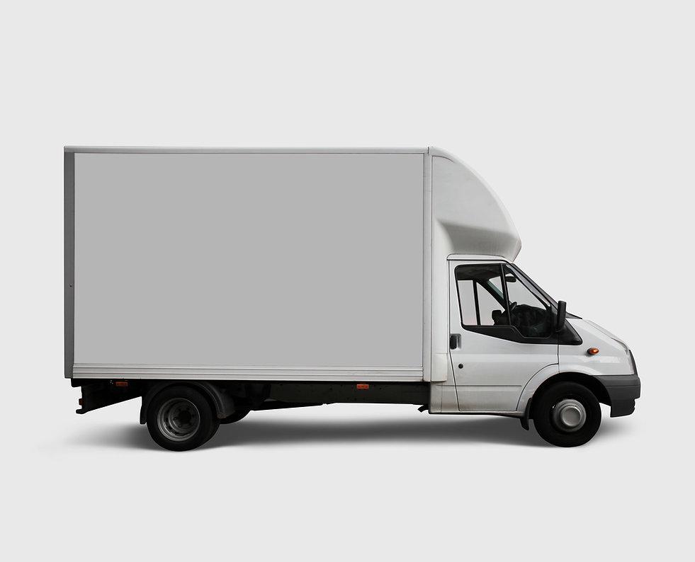 Branca Caminhão de entrega