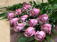 12 roses lilas 90$