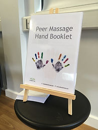 Peer massage booklet stand.JPG