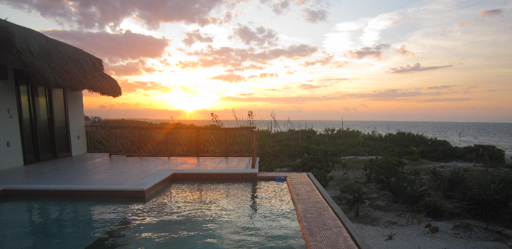Infinity Pool Into the Sunset