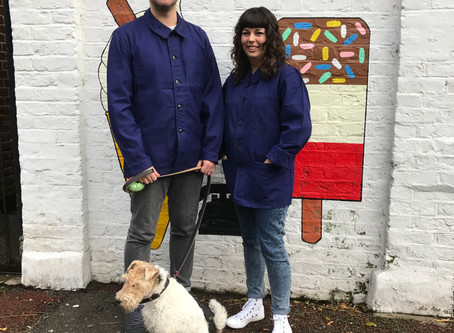 Be green, have blue: wearing vintage French workwear as a sustainable act
