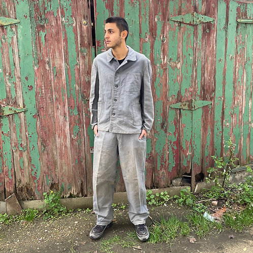 Grey Moleskine Jacket and Trousers - M/L