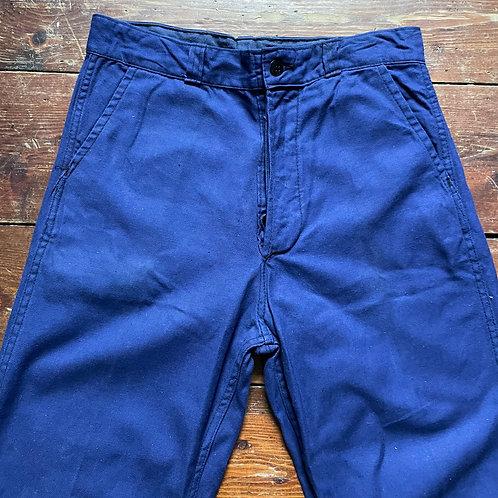 Dark Blue Trousers 30W / 29.5L
