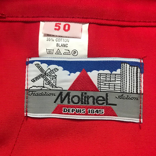 "Red Molinel Trousers. 38"" W - 33"" L"