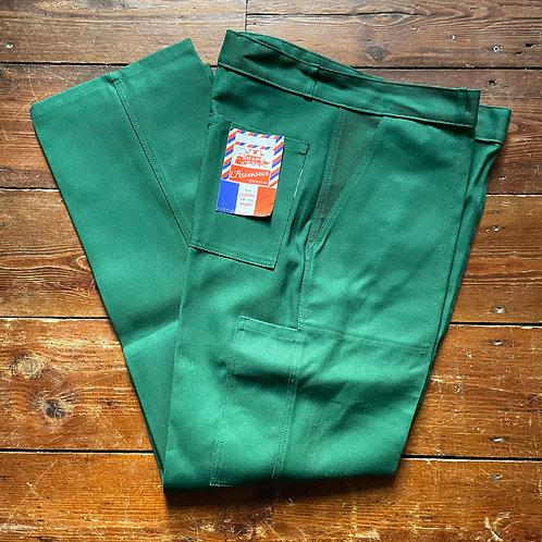 L'Ascenseur Green Trousers. 36W - 32L