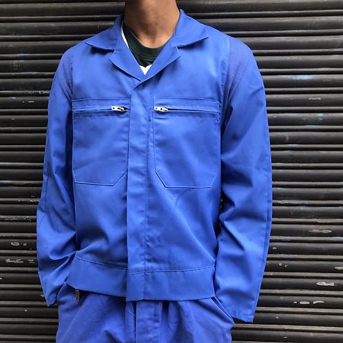 Bugatti Blue Zip Jacket - S/M