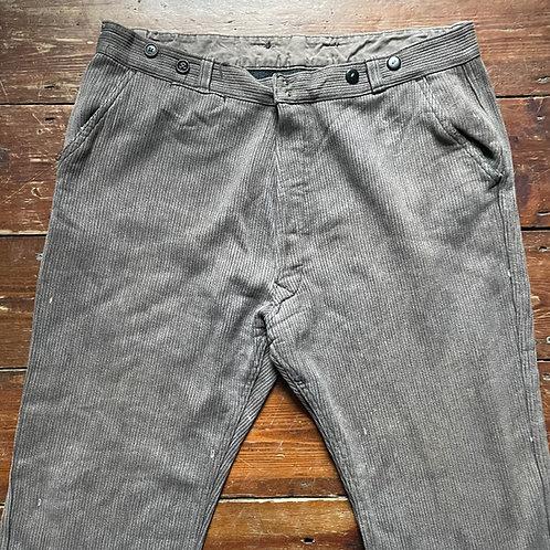 Light Brown Corduroy Trousers 48W 27L