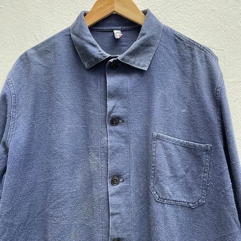 Grey Blue East German Jacket - Large