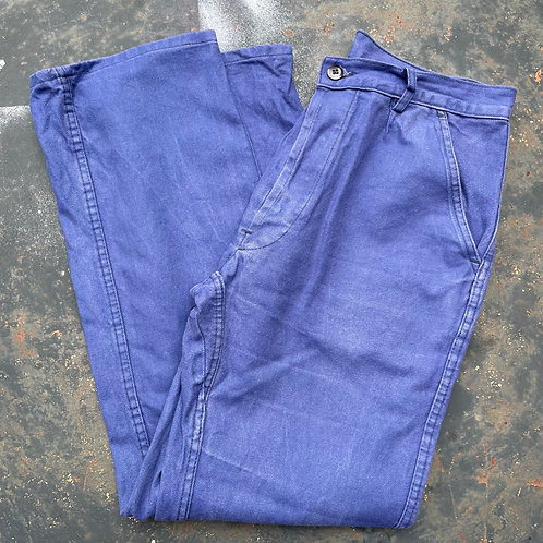 LMA Faded Dark Blue Trousers 29W 28L