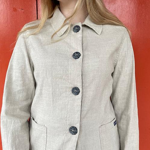 Linen Le Glazik Ecru Jacket UK10/12