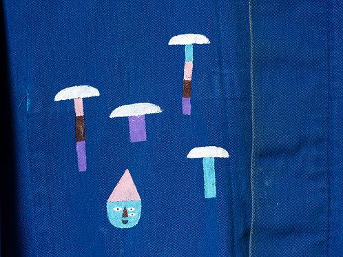 Stewart Easton Abstract Mushroom Jacket Large