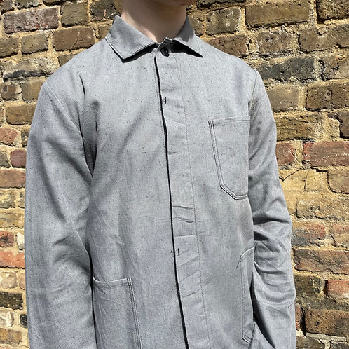 Grey East German Jacket - Small