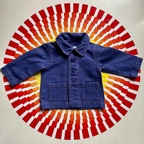 Agnes B Baby Denim Workwear Jacket - 6 months