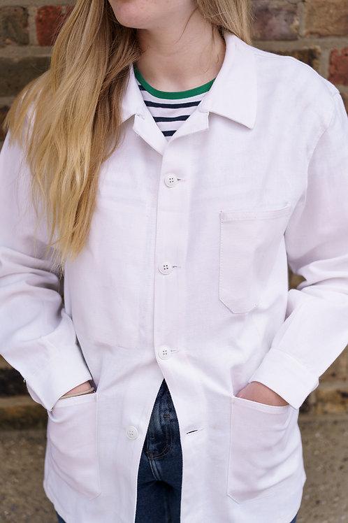 White Painter Jacket - Small & Medium