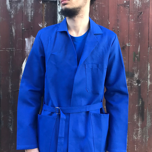 Long Workwear Atelier Coat - Medium