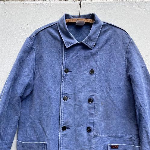 Double Breasted Moleskine Jacket M/L