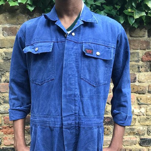German Blue Grey Jumpsuit - Medium