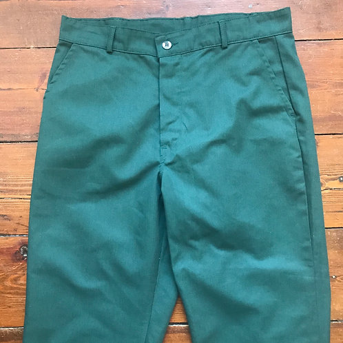 "Green Workwear Trousers. 32"" Waist Leg 26"""