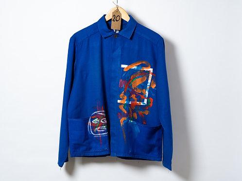 Sally Minns Abstract Motif Jacket M/L