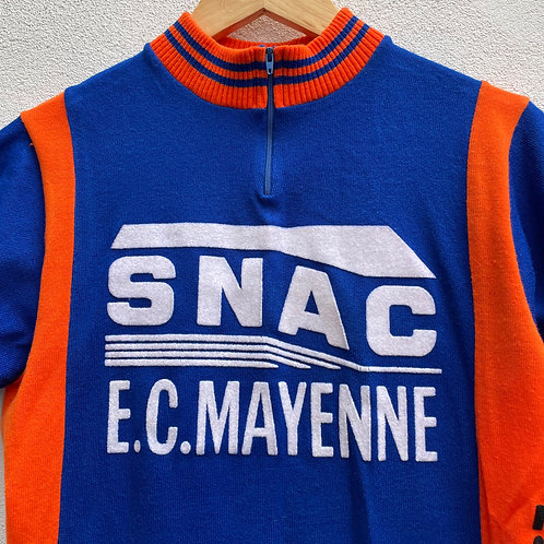 Blue and Orange Cycling Jersey Small