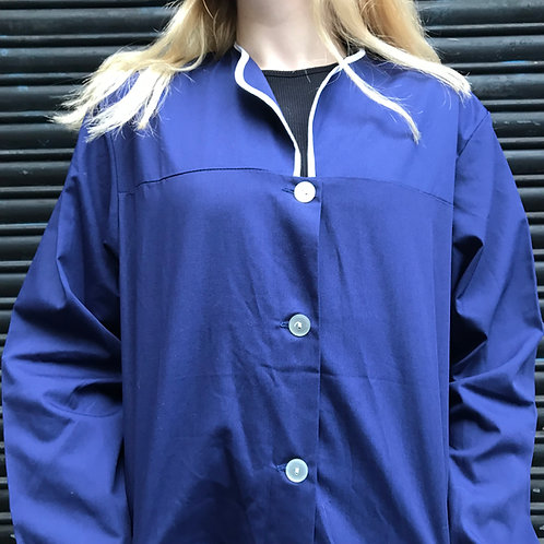 Large Dark Blue Workwear Dress