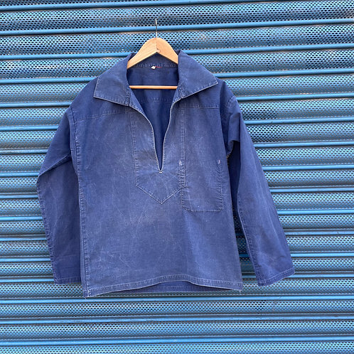 Faded Blue Fisherman's Smock - S/M