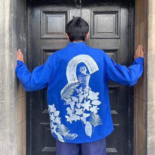 Jacket customised by Kate Gibb - Large