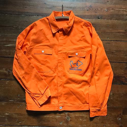 Italian Orange Jacket - Medium